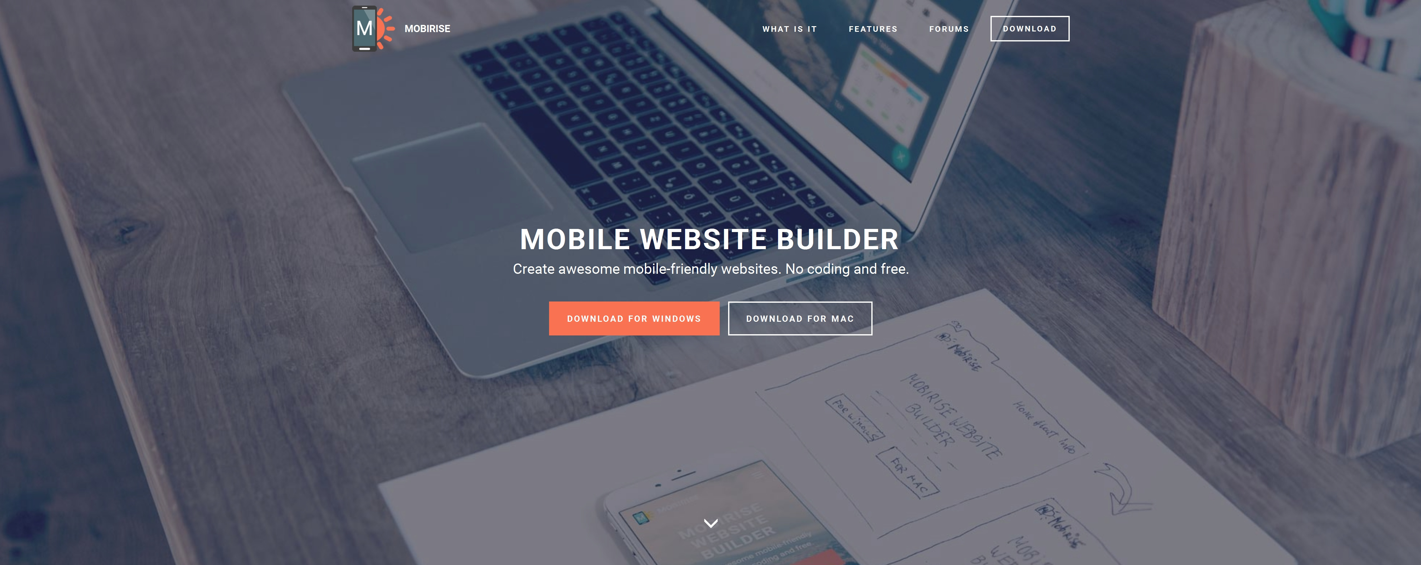 Offline Mobile Website Maker