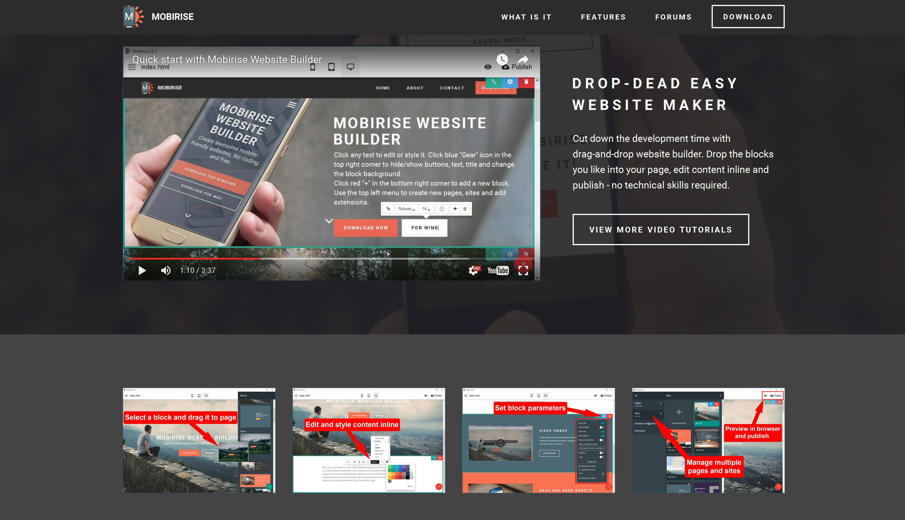 Responsive Mobile Website Creator Review